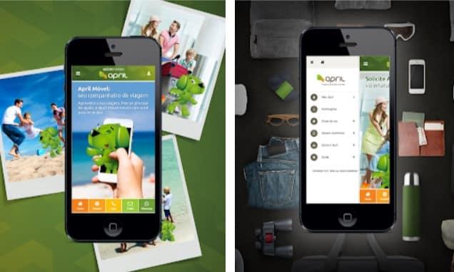 April Seguro Viagem - app de celular