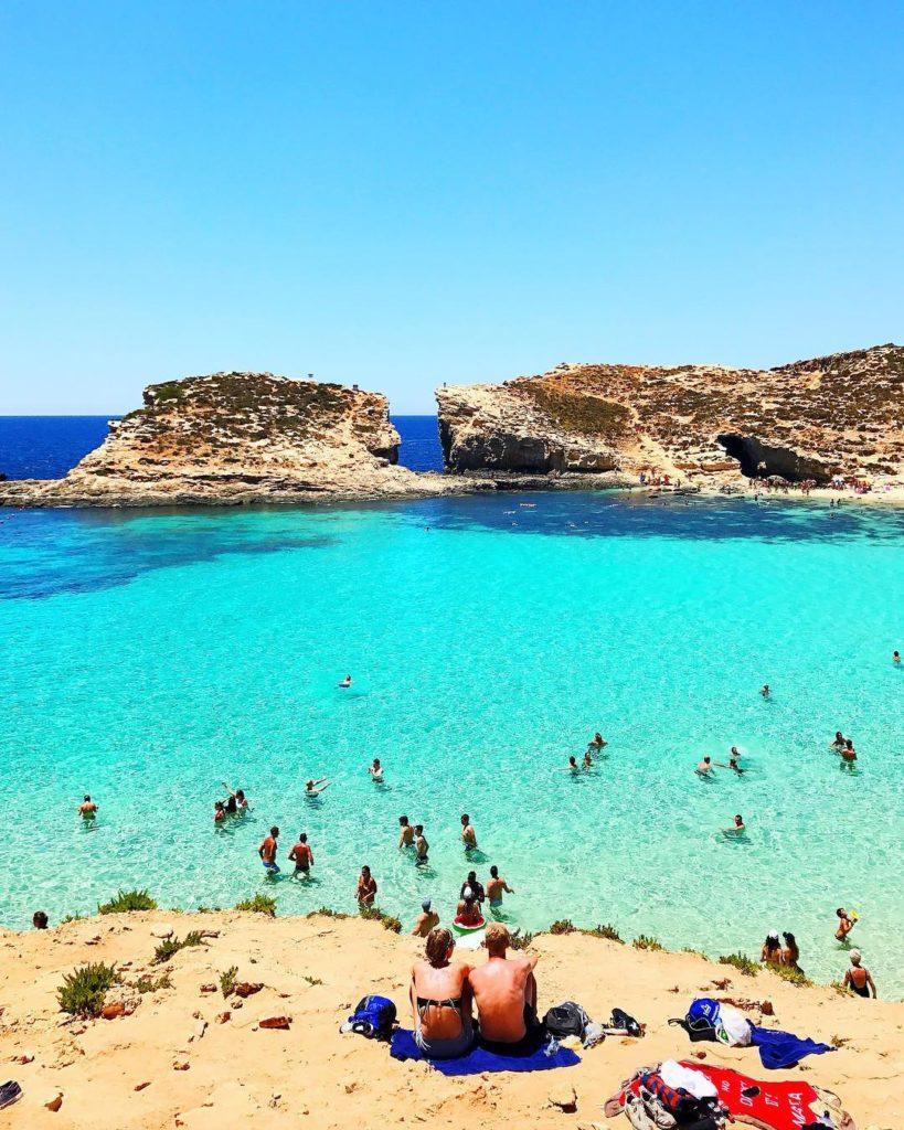 Blue Lagoon em Malta - Foto: Flávio Antunes - Seguro Viagem Malta