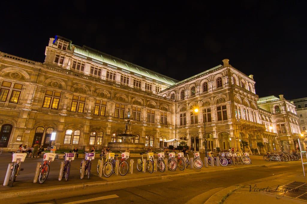 Ópera de Viena – Foto: Vicente Laguna via Flickr