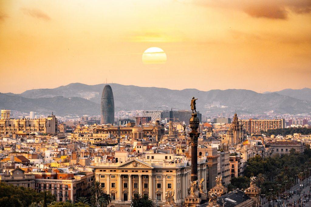 Cidade de Barcelona na Espanha, um dos principais pontos turísticos do país. Foto: Aleksandar Pasaric