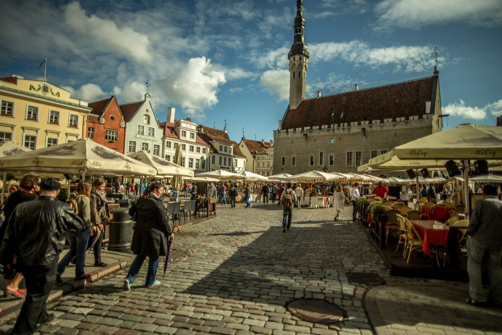 m dos principais pontos turísticos da Estônia, a capital do país Tallinn