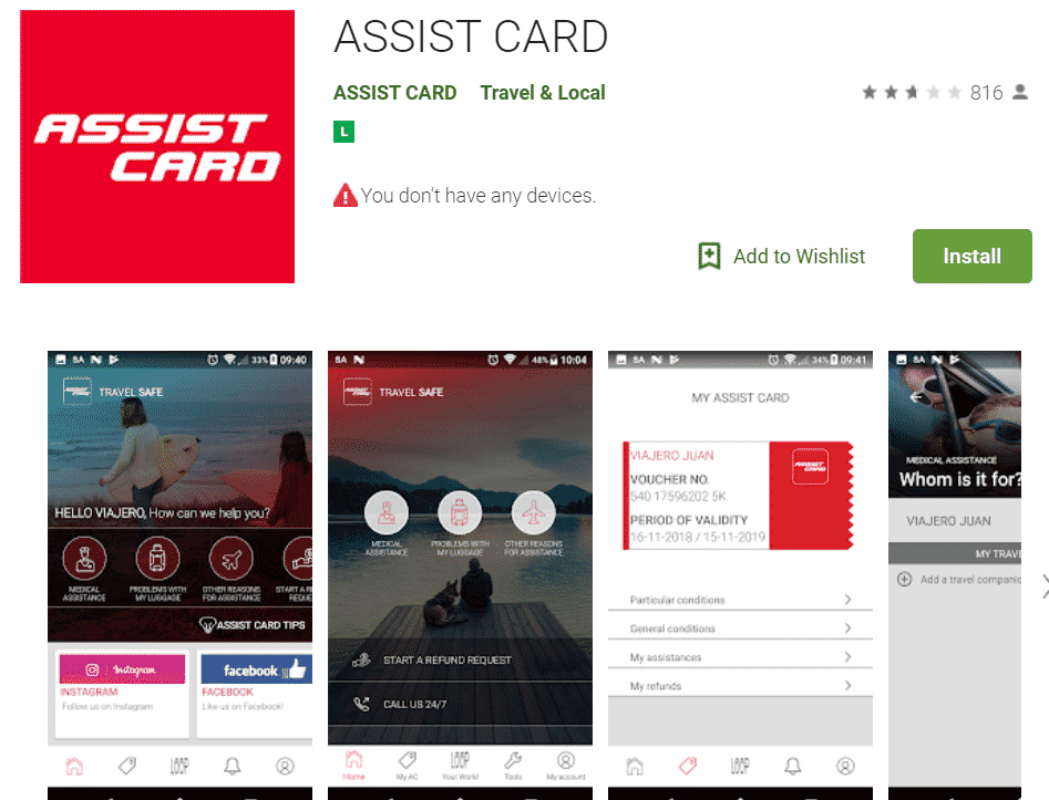 App Autogestão da Assist Card