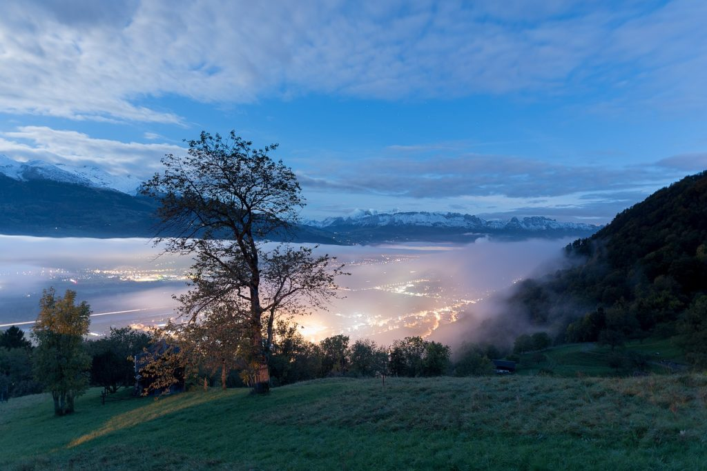 Noite em  Liechtenstein