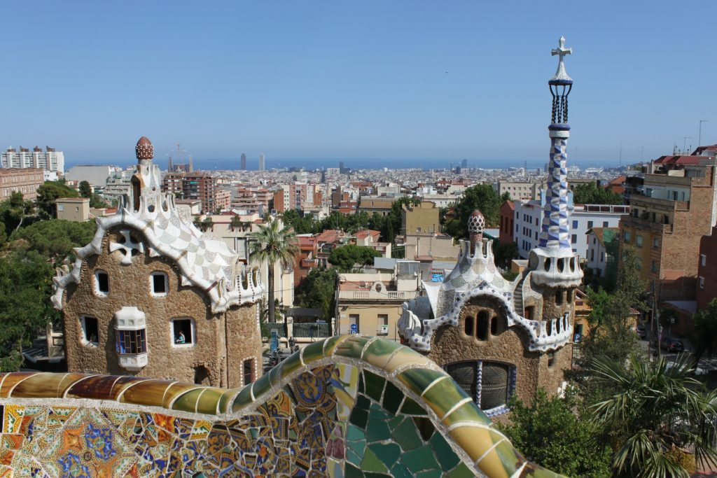 O Parque Güell em Barcelona - seguro viagem barcelona